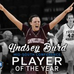 Campbellsville's WBB Lindsey Burd is named Mid-South Conference Co-Player of the Year