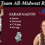 Bellarmine WBB Sarah Galvin named 1st Team All-Midwest Region by CCA