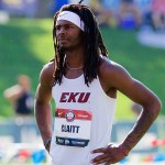 EKU Track & Field's Tequan Claitt Competes at U.S. Jr Nationals