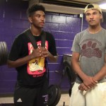 Tyrion Taylor & Austyn Thornton on Campbellsville HS win over Green County