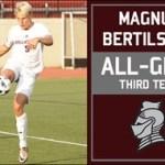 Bellarmine Men's soccer's Bertilsson earns All-GLVC accolades