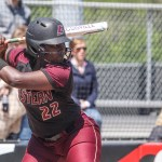 Alston Breaks Doubles Record as EKU Splits Doubleheader at Southeast Missouri