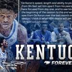 UK MBB De'Aaron Fox Declares for 2017 NBA Draft