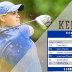 UK Golf's Rose Leads Wildcats to Program's Best SEC Championship Score