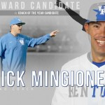 UK Baseball's Mingione Named Perfect Game/Rawlings Coach of Year