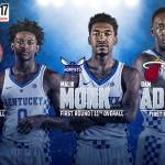 Three UK Players Selected in the 2017 NBA Draft