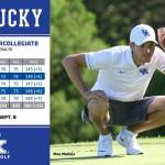 UK Mens Golf's Mehles Shines on Day Two of Wolf Run