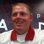 UofL Football QB Coach Nick Petrino – Media Day 2017