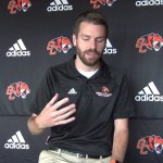 Georgetown College Head Cross Country Coach Luke Garnett