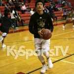 Andru Markham (2022/FORWARD) Newburg Middle School Basketball