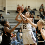 Campbellsville WBB Alexus Calhoun narrowly misses double-double in win over UPIKE