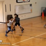 Tre Irvin -2022 GUARD Newburg MS vs Moore [DISTRICT]