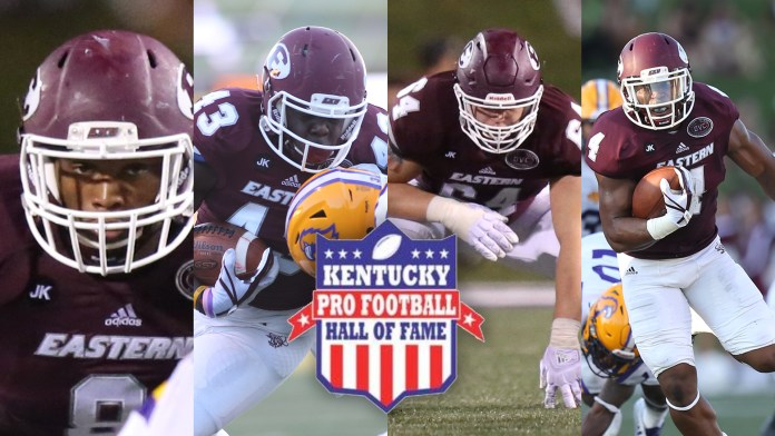 Eastern Kentucky University football 2018