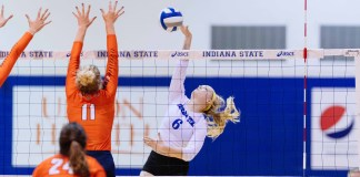 Eastern Kentucky University volleyball 2018