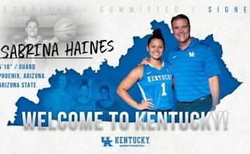 University of Kentucky womens basketball 2018-19