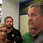 UK Coach Calipari on NBA Playoffs, NBA in KY, NBA Playoffs & More
