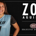 EKU's Aguirre Voted OVC Goalkeeper of the Week for Second Straight Week