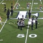 Elizabethtown High School Marching Band Sept 7, 2018