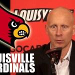 Louisville Cardinals Coach Chris Mack Post Game vs Bellarmine