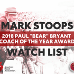 "UK Football Mark Stoops Added to Watch List for 2018 Paul ""Bear"" Bryant Coach of the Year"