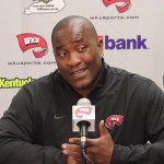 WKU Football Game 7 Press Conference / Old Dominion – Head Coach Mike Sanford and Defensive Coordinator Clayton White