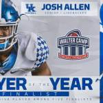 UK Football's Josh Allen Named Walter Camp Player of the Year Finalist