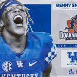 UK Football's Benny Snell Jr. Named Doak Walker Award Semifinalist