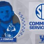 UK Football's C.J. Conrad Named to SEC Community Service Team