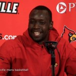 Louisville Basketball Akoy Agau on 104-54 WIN vs Southern