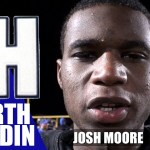 North Hardin HS Football WR Josh Moore on Wk 2 Playoff Game vs Male
