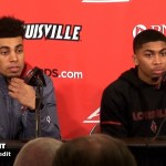 UofL Basketball Jordan Nwora & Christen Cunningham Postgame vs UK