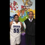 Caverna HS Girls Basketball Coach Faulkner & McKeeya Faulkner