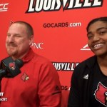 UofL Track & Field McRoberts, Cowper & Forrest 2019 Spring Media Day