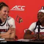 UofL WBB Kylee Shook & Dana Evans on WIN vs Pitt