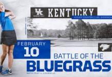 University of Kentucky Golf 2019