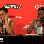 UofL WBB Asia Durr & Dana Evans On WIN vs #2 UConn