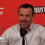 UofL WBB Coach Jeff Walz on WIN vs #15 Syracuse, now 21-1