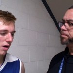 Larue County HS Basketball Noah Davis on District Championship WIN