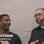 One Team One Dream AAU Basketball Coach Cailyn Hogan at Bluegrass March Madness