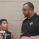 One Team One Dream AAU Basketball Camdyn Hogan at Bluegrass March Madness
