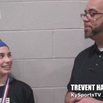 Newburgh Blue Dragons Indiana AAU Basketball Sadie Winsett at WK Sports Ent Bluegrass March Madness
