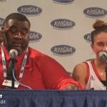 George Rogers Clark HS Girls Basketball Sweet 16 Presser vs Murray