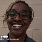 Clarksville Snipers AAU Basketball Coach Joi Mosley at Vette City Shootout