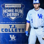 Kentucky Baseball's T.J. Collett Selected to Compete in College Home Run Derby