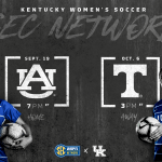 UK Women's Soccer to be Featured Twice on SEC Network