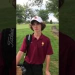 Glasgow High School Golf's Drew Richardson
