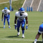 UK Football's Xavier Peters Granted Immediate Eligibility