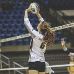 EKU VOLLEYBALL LOSES A PAIR OF CONTESTS ON THE FINAL DAY AT WEST VIRGINIA