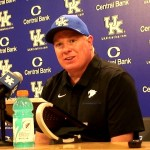 UK Football Coach Mark Stoops Postgame vs Toledo