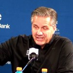 UK Wildcats Basketball Coach Calipari Postgame vs Georgetown